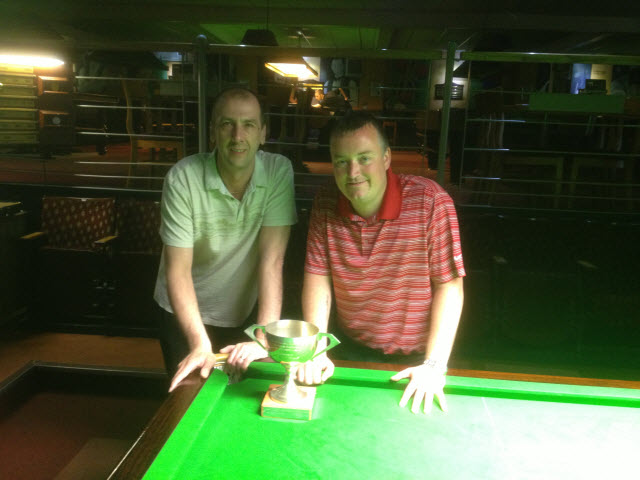 Kevin Firth & Wayne Cooper Yorkshire Pairs Winners 2013