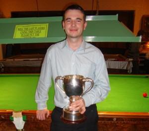 Bradford Snooker Champion 2014 John Wellham