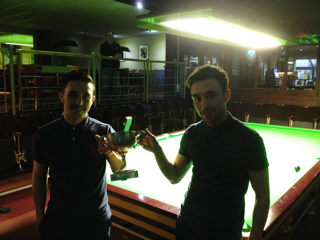 Gareth & Anthony Green Yorkshire Pairs Champs 2014