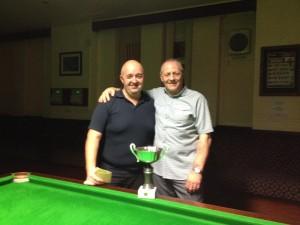 Paul Young & Eric Poynton Eccleshill WMC  2014 Pairs Winners