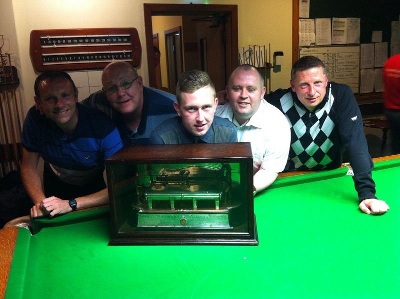 Paul Storey, Eddie Ratcliffe, Aiden Rhodes, Steve Moore and Danny Peel
