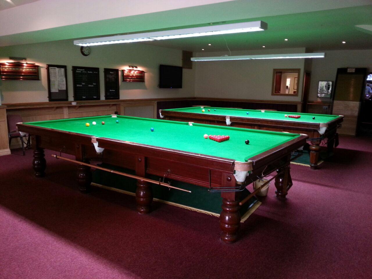 Cuesport Lighting Transforms Snooker Rooms Bsa Cuesports