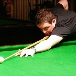 Eccleshill Victoria player Darren Goy is through to the quarter finals by defeating holder Wellham 4-2