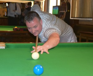 Wayne Cooper made a superb 109 break on his way to victory for Bradford No 1
