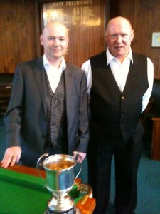 Mark Hirst and Steve Wilman Bfd Billiards Final 2015